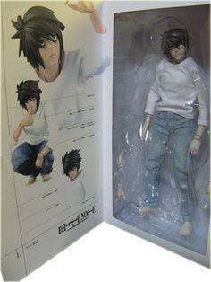 Death Note: Figura de ação do L - Death Note