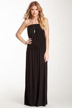Strapless Maxi Dress by Loveappella on @HauteLook