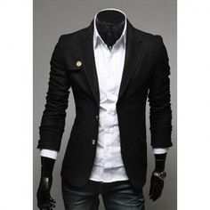 Mandarin Collar Blazer for Men | Pinterest for Men | Pinterest ...