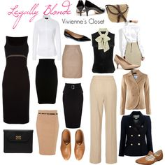 Legally Blonde - Vivienne's Closet, created by rigfield on Polyvore
