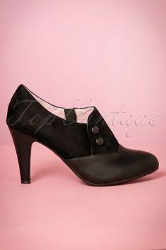 9b2e3c58a5d19 Lulu Hun Maria Booties Black 430 10 21699 27092017 006W Black Faux Leather