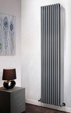 The Radiator Company Volcano Single Vertical Radiator in White Cast Iron Radiators - Period Radiators, Traditional Radiators, Designer Radiators, Contemporary Radiators, Modern Radiators UK Tall Radiators, Vertical Radiators, Column Radiators, Cast Iron Radiators, Kitchen Radiators, Contemporary Radiators, Traditional Radiators, Modern Radiators, Radiator Shop
