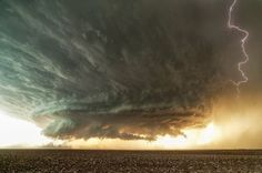 Pars Kutay - Google+ - A supercell near Booker, Texas  by Mike Olbinski