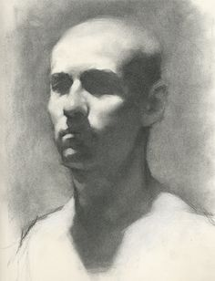 Charcoal Study - Jeff Haines