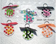 Key Chain  Mother/Father's Day  Bridesmaid by santasgiftshoppe
