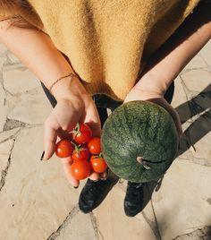 Veggies fresh out the Garden