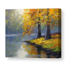 What is Your Painting Style? How do you find your own painting style? What is your painting style? Impressionist Landscape, Watercolor Landscape, Landscape Art, Landscape Paintings, Watercolor Paintings, Landscapes, Western Landscape, Fall Paintings, Tree Paintings