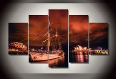 Framed-Printed-Sydney-city-at-night-picture-Painting-wall-art-room-decor-print-poster-picture-canvas.jpg_640x640.jpg (640×439)