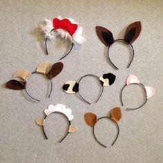 Variedad Animal orejas vendas cumpleaños partido zoológico