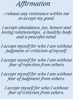 Self Affirmations Worksheets Also Positive Affirmations Self Esteem ...