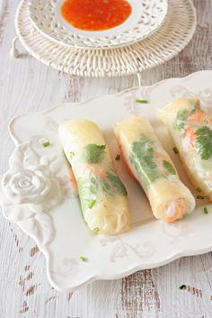 VIETNAMESE SPRING ROLLS  #Spring_Rolls #Vietnamese_Food