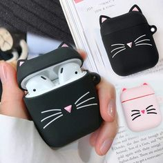 Cute Ipod Cases, Iphone Cases, Cute Headphones, Bluetooth Wireless Earphones, Headset, Accessoires Iphone, Earphone Case, Accesorios Casual, Air Pods