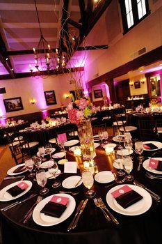 Wedding, Flowers, Reception, Pink, Centerpiece, Orange, Brown, Modern