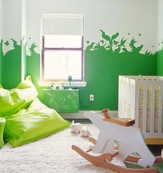 Kids room paint job