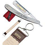Rasiermesser mit Goldätzung Set mit Schleifpasten und Streichriemen aus Solingen Wet Shaving, Straight Razor, Gold, Personalized Items, Knives, Essentials, Kit, Shaving, Bow