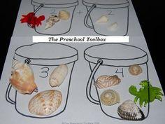preschool ocean theme activities | Beach Theme Activities for Preschool! | The Preschool Toolbox Blog: