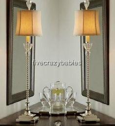 Abby Crystal Buffet Lamp On OneKingsLane.com | Bedrooms | Pinterest | Buffet