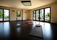 Mandala yoga room in Hullam Villa. Book your next retreat for your group!