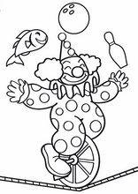 Clown Coloring Pages Circus Printable Page Jamiejo Pro Online Coloring Pages, Colouring Pages, Printable Coloring Pages, Coloring Pages For Kids, Coloring Books, Preschool Circus, Circus Activities, Circus Crafts, Art Du Cirque