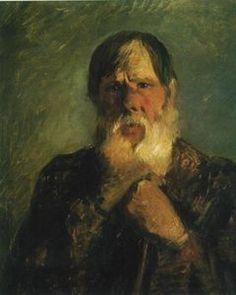 Nikolai Ge - Ein alter Bauer