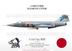 """F-104J """"Eiko"""""""
