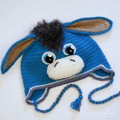 Crochet For Boys, Crochet Baby Hats, Knitting For Kids, Crochet Toys, Baby Knitting, Knitted Hats, Knit Crochet, Loom Knit Hat, Loom Knitting