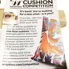 is having their yearly Cushion Competition for all you talented illustrators out there. This is a great opportunity to get your work some notice! Finsbury Park, Yearly, Youre Invited, New Artists, Illustrators, Opportunity, Competition, Cushion, Instagram Posts