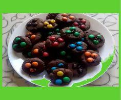 Домашние рецепты: Видео рецепт - Как приготовить шоколадное печенье