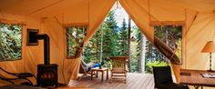 The Greater Outdoors - luxury camping