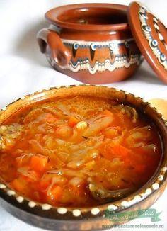 Supa de Varza Acra Vegetarian Cooking, Vegetarian Recipes, Healthy Recipes, Foods To Eat, I Foods, Soup Recipes, Cooking Recipes, Romanian Food, Hungarian Recipes