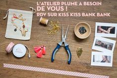 Le projet que j'ai soumis au site kiss kiss Bank Bank fonctionne avec l'aide d'une collecte financière qui permettra à L'Atelier Plume de créer une nouvelle collection et donc de continuer d'exister : http://www.kisskissbankbank.com/fr/projects/l-atelier-plume-la-petite-epicerie-du-bijou Beau dimanche. Claire