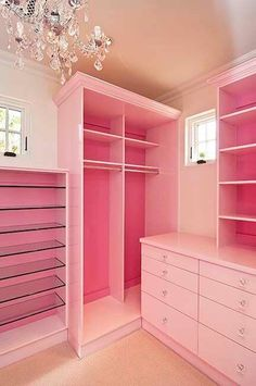 Maybe I should have a pink closet
