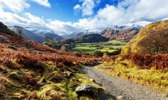 Borrowdale Valley, England