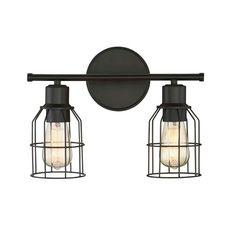 Cessal 2 Light Vanity Light by Trent Austin Design