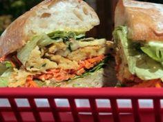 Chickpea Sandwich from eat street