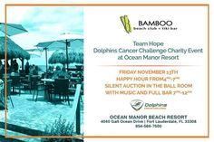 Tomorrow cancer challenge at Bamboo Beach.