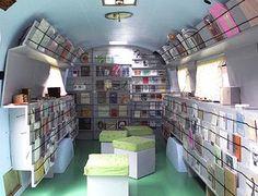 airstream bookmobile.... sweet!