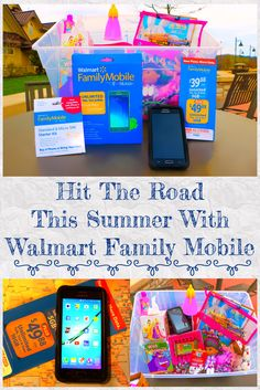 HIT THE ROAD THIS SUMMER WITH WALMART FAMILY MOBILE #Ad #CollectiveBias #DataAndAMovie