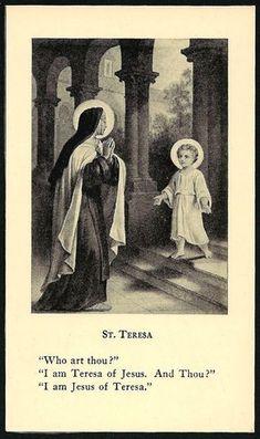 A Igreja Doméstica: Santa Teresa de Jesus - Santa Madre Carmelita