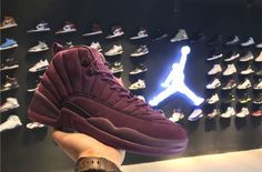 Our Best Look Yet At The PSNY x Air Jordan 12 Bordeaux