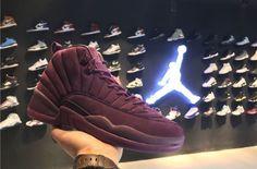 Our Best Look Yet At The PSNY x Air Jordan 12 Bordeaux