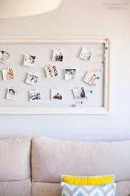 Resultado de imagen para decoracion con fotos colgadas con pinzas