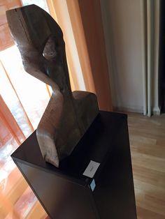 """""""Siluet"""" (2014; Meşe Ağacı Çalışma -  40 cm x 25 cm x 6 cm)"""