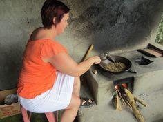 kahvinpapujen paahto Balilla