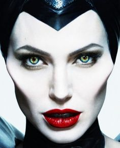 Makeup Ideas for Maleficent from Disney's Maleficent