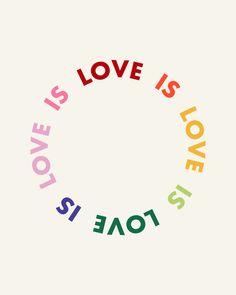 Love Is Love Mini Art Print by Kath Nash - Without Stand - x Quotes About Pride, Lgbt Pride Quotes, Equality Quotes, Gay Pride, Motivacional Quotes, Pink Quotes, Gay Aesthetic, Love Posters, Happy Words
