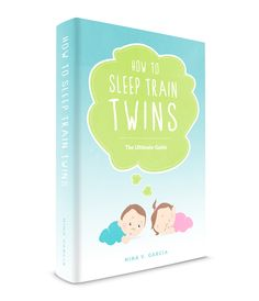 Tired of waking up multiple times a night? Get your twins to sleep and learn how to sleep train twins with this step-by-step guide on twins and sleep.