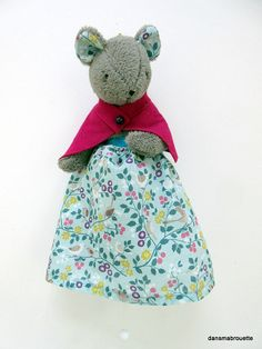 musical mouse for baby. Musicals, Summer Dresses, Etsy, Couture, Tooth Fairy, Unique Jewelry, Summer Sundresses, Sundresses, Haute Couture