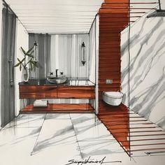 70 ideas for furniture sketch architecture design Croquis Architecture, Interior Architecture Drawing, Interior Design Renderings, Plans Architecture, Drawing Interior, Architecture Sketchbook, Interior Rendering, Interior Sketch, Classical Architecture