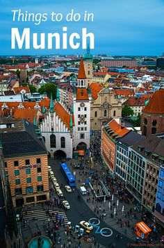 Travel Tips - So many amazing things to do in Munich, Germany